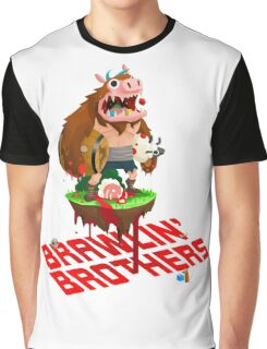 Brawling Brothers - ManBearPig Graphic T-Shirt