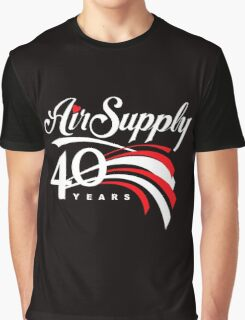 Air Supply 40 Years Tour 2016 Graphic T-Shirt