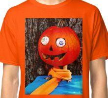 Crazy eyed pumpkin head Classic T-Shirt