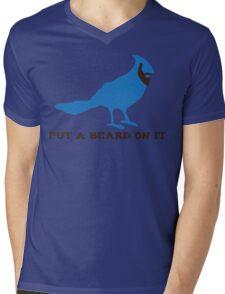 Beardlandia! Mens V-Neck T-Shirt