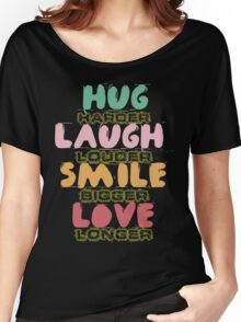 Hand drawn quotes Women's Relaxed Fit T-Shirt
