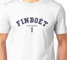 Finboet Logo Blau Unisex T-Shirt