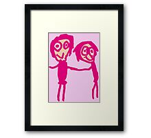 Friendship is bliss by Hope Framed Print