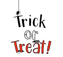 Trick or Treat! Photographic Print