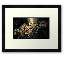 The Engineer Framed Print