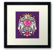 Pink Sugar Gang Framed Print