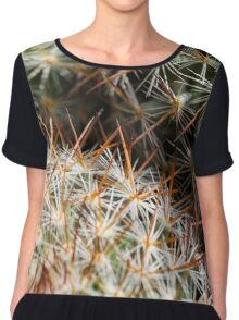 Mexican Round Cactus Chiffon Top