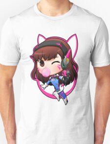 Overwatch D.Va Chibi Unisex T-Shirt