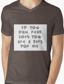 Pokemon Funny Unkown  Mens V-Neck T-Shirt