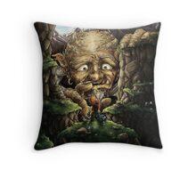 Mountain Giant Throw Pillow