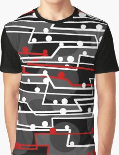 Stay in line 2 Graphic T-Shirt