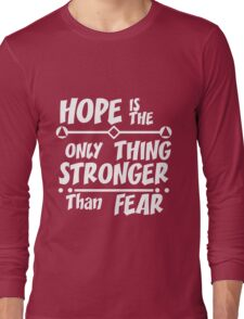Positive quote typographic  Long Sleeve T-Shirt