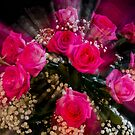 Pink Roses Bouquet Explosion by Bo Insogna