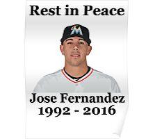 RIP Jose Fernandez Poster