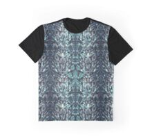 Abstract blue black pattern. Graphic T-Shirt