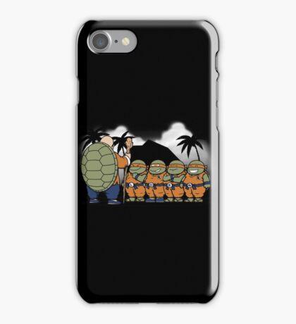 Dragon Ball Z - Ninja Kame Kids iPhone Case/Skin