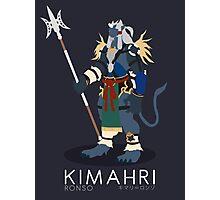 Kimahri Ronso - Final Fantasy X Photographic Print