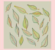 Leaves in the Wind Kids Tee