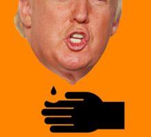 DANGER - Corrosive ACID Caution Trump Sticker Sticker