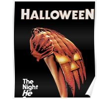 Halloween - Night He Came Home T-Shirt Poster