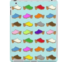 Because Clogs iPad Case/Skin