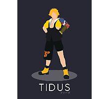 Tidus - Final Fantasy X Photographic Print