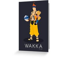 Wakka - Final Fantasy X Greeting Card