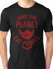 save the planet, EAT POEPLE #2 Unisex T-Shirt