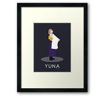 Yuna - Final Fantasy X Framed Print