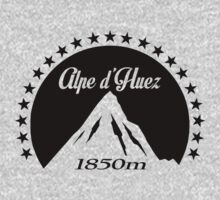 Alpe d'Huez (Black) One Piece - Short Sleeve