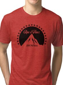 Alpe d'Huez (Black) Tri-blend T-Shirt