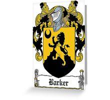 Barker  Greeting Card