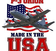 P-3 Orion Made in the USA by Mil Merchant