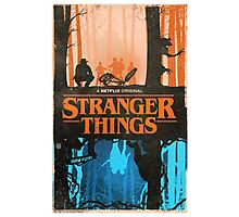 Stranger Things Merch Photographic Print