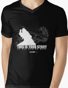 This is your story - Auron Mens V-Neck T-Shirt