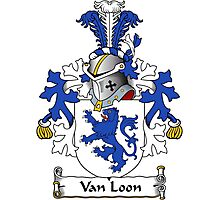 Van Loon Coat of Arms (Dutch) Photographic Print