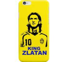king Zlatan iPhone Case/Skin