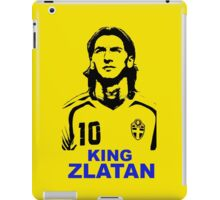 king Zlatan iPad Case/Skin