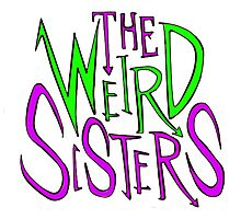 The Weird sisters Photographic Print
