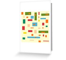 Shapely Shapes Greeting Card