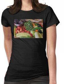 Garden Medley Womens Fitted T-Shirt