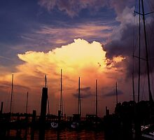 Harbor Sunset by DRCP