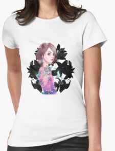 #7 Lilies Womens Fitted T-Shirt