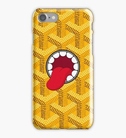 Goyard x Kaws Yellow iPhone Case/Skin
