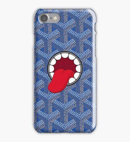 Goyard x Kaws Blue iPhone Case/Skin