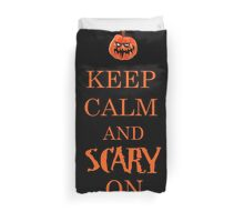 scary on Duvet Cover