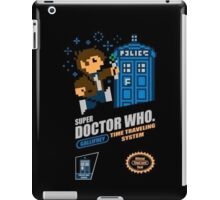 "Doctor Who ""SNES Who"" iPad Case/Skin"
