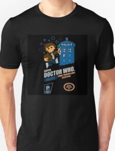 "Doctor Who ""SNES Who"" Unisex T-Shirt"