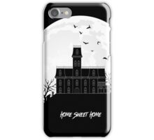 Home Sweet Home - Haunted House iPhone Case/Skin