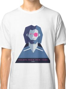 Escape from New York (1981) 80s Sticker Classic T-Shirt